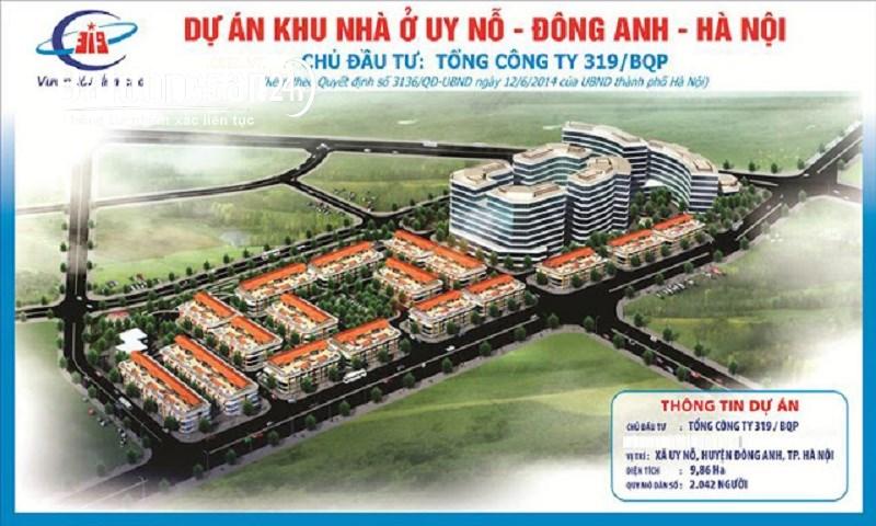 chuẩn bị mở bán Dự án 319 BQP  Đường Cổ Loa, Xã Uy Nỗ, Huyện Đông Anh
