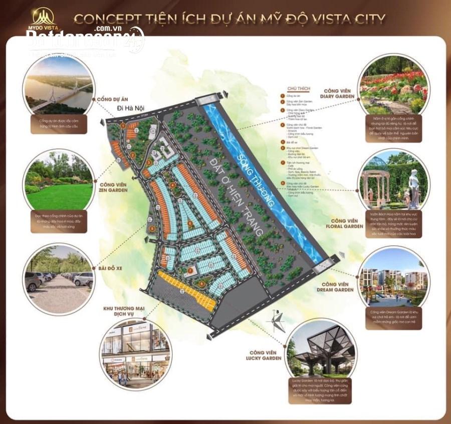 Chuyển Nhượng Lô Shophouse Dự Án Vista Mỹ Độ - Bắc Giang