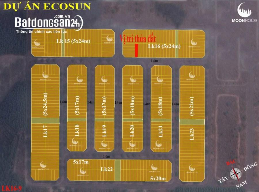 Hot hot hot Đất nền dự án ecosun Nhơn trạch-