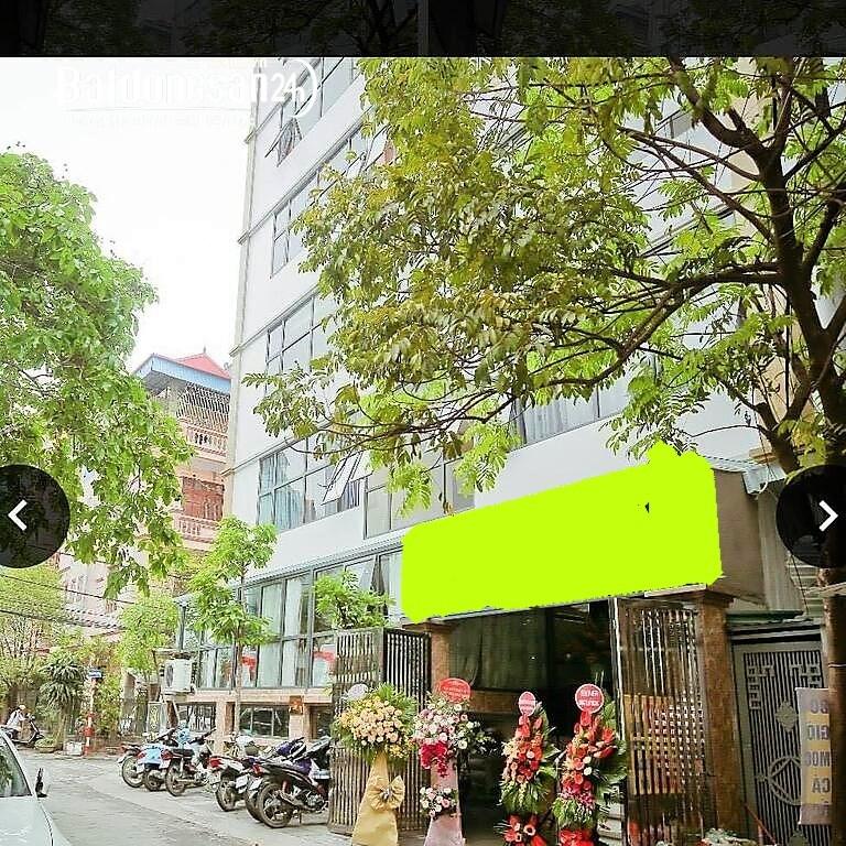 Cần Bán Tòa Nhà Lô Góc, Trần Quốc Hoàn,Cầu Giấy; 99M,9Tầng, Mặt Tiền 14M,Giá28tỷ