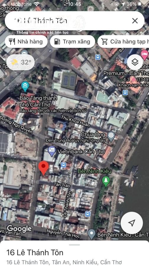 Bán 2 căn nhà hẻm 40 Tân Trào bến Ninh Kiều