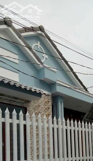 Nhà xây sắp hoàn thiện tại tại xã Phước Thạnh