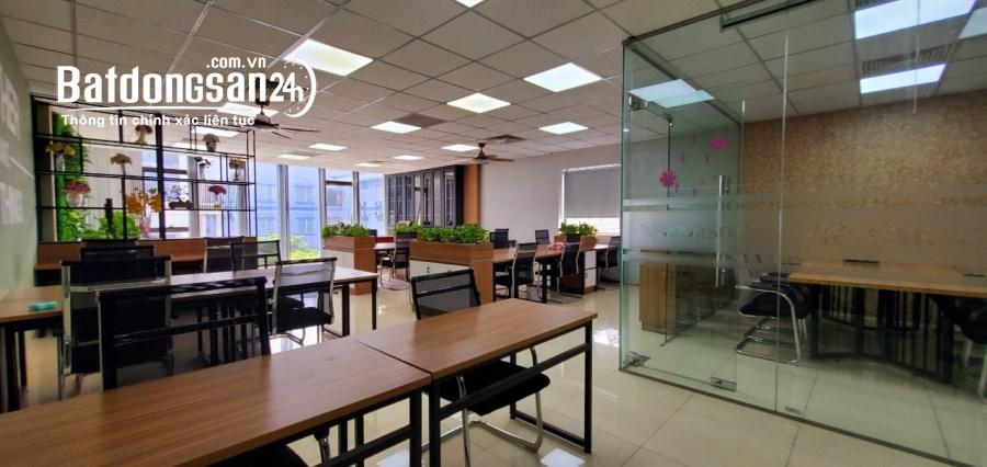 Quận Nam Từ Liêm: Cho thuê văn phòng 140m2-200 3 mặt thoáng tại Nguyễn Hoàng