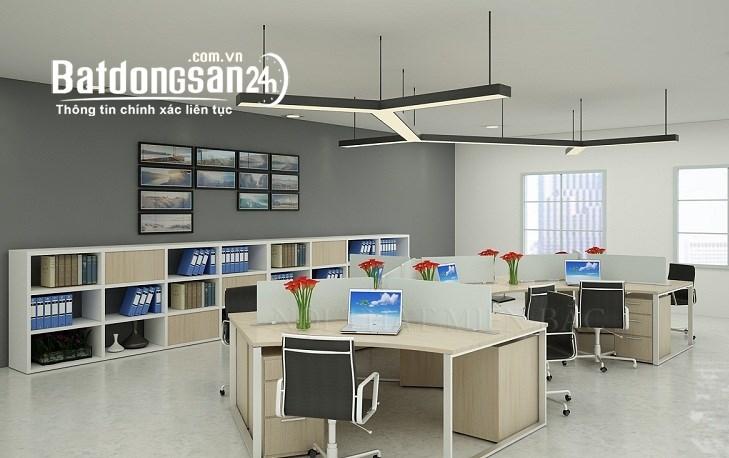 cho thuê sàn văn phòng trong tòa nhà có vị trí thuận lợi, mặt đường Xã Đàn,