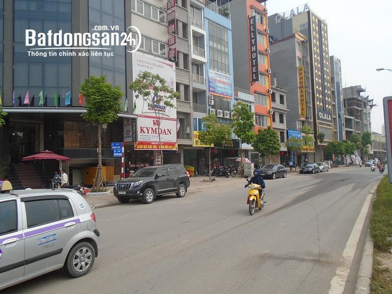 Tòa nhà văn phòng cực vip 8 tầng phố Nguyễn Hoàng 140m2 MT-6.5m Giá 27 tỷ