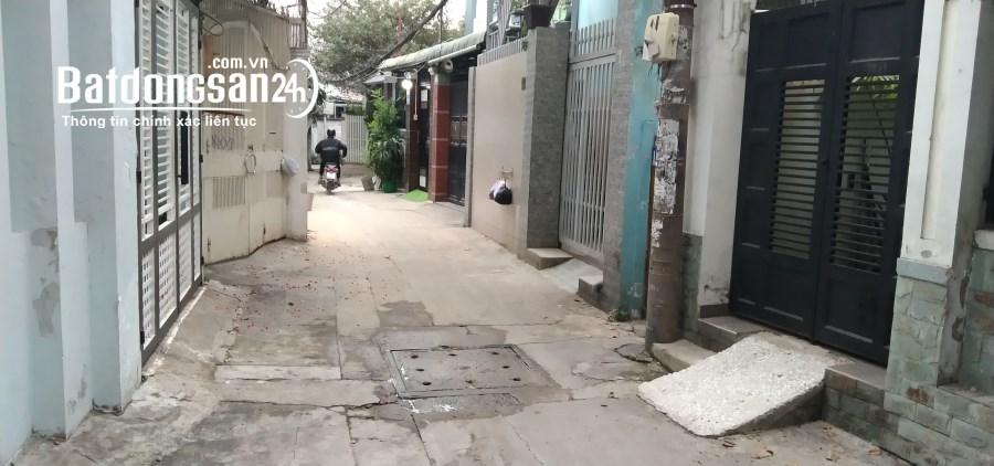 Bán nhà Đường Nơ Trang Long, Phường 12, Quận Bình Thạnh, 66m2, 3.95 tỷ.
