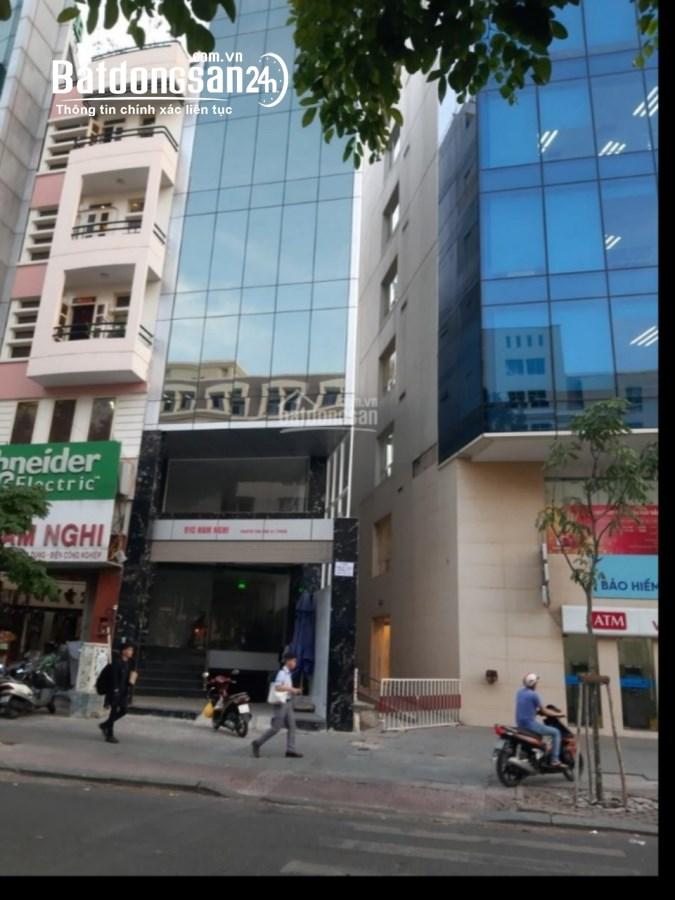 Cho thuê nhà 5 tầng mặt tiền đường Hàm Nghi-Q1, có thang máy, tiện KD