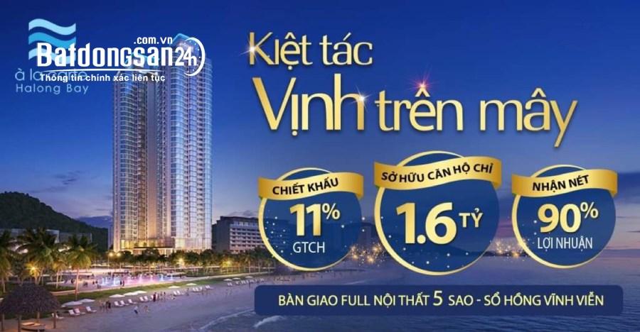 Bán căn hộ 1 phòng ngủ 45,1m2, tỷ suất sinh lời cao nhất dự án A La Carte
