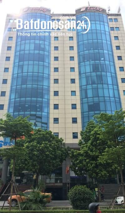 LH 0909300689.Cho thuê văn phòng 220m2,317m2 giá tốt tòa Lucky,Trần Thái Tông