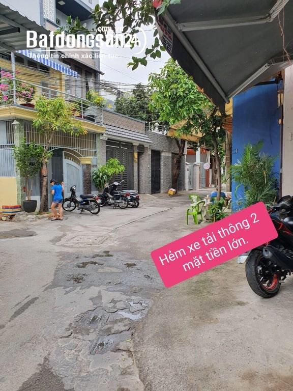 Bán nhà Vườn Lài 2 mặt tiền giá rẻ, 4l BTCT, xe tải thông nhỉnh 4tỷ