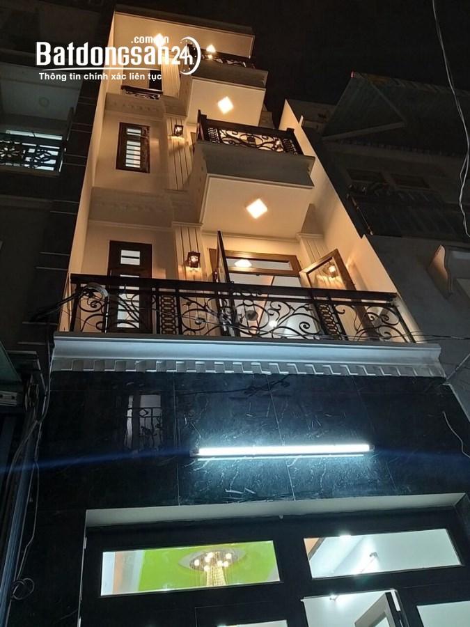 Bán nhà MT Tản Đà-Trần Hưng Đạo, P.11, Q.5, DT: 4x20m, 4 lầu nhà đẹp Giá 26 tỷ