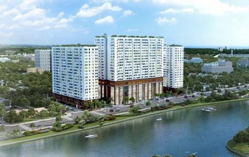 Cần cho thuê căn hộ chung cư Green River, Đường Phạm Thế Hiển, Quận 8. DT:68m2