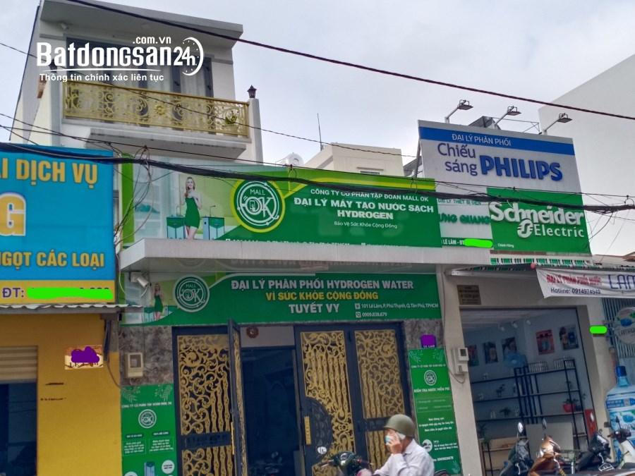 Bán nhà mặt phố Đường Lê Lâm, Phường Phú Thạnh, Quận Tân Phú