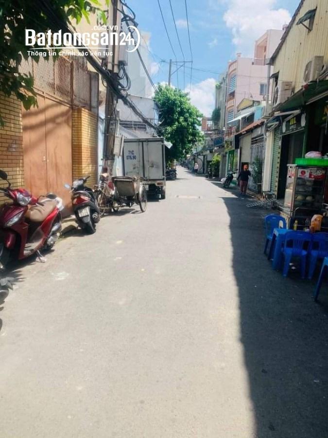 Bán nhà Âu Cơ 2 mặt tiền, đường 6m ngay chợ Tân Phước,4l BTCT, KD đỉnh