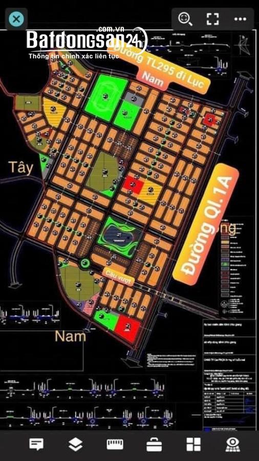 Đất nền trung tâm thị trấn  Bắc Giang. Giá hơn 1 tỷ/lô