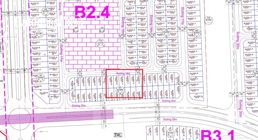 Chính chủ bán Biệt thự B2.4 – BT06 ô 11 Thanh Hà Cienco 5