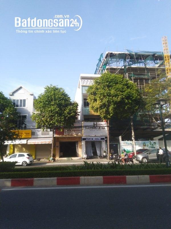 Cho thuê nhà - văn phòng 1 trệt 2 lầu mặt tiền ngã 5 Lê Hồng Phong