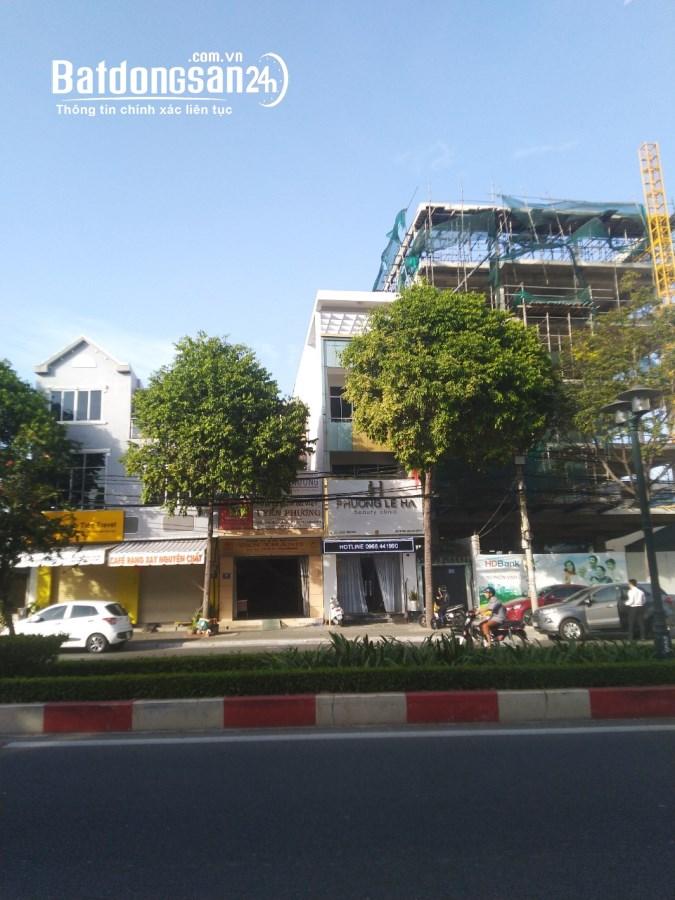 Cho thuê nhà - văn phòng mặt tiền ngã 5 Lê Hồng Phong