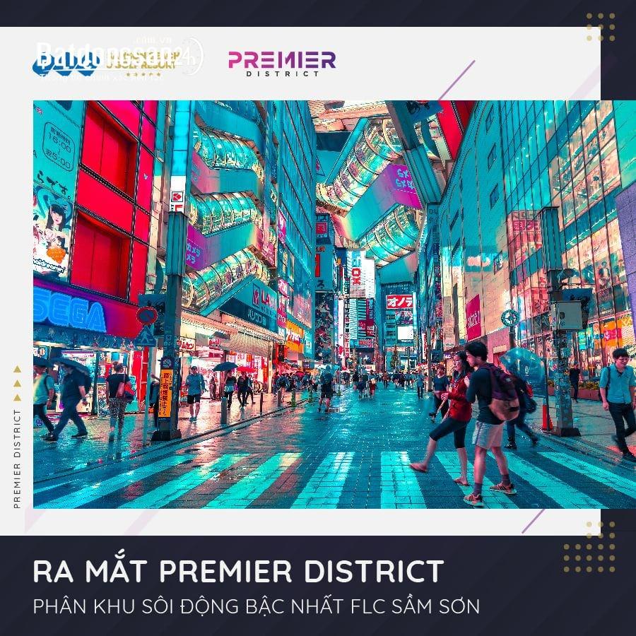 """Cơ hội đầu tư khu phố """"Tây"""" Premier District Sầm Sơn. LH 0911.633.555"""