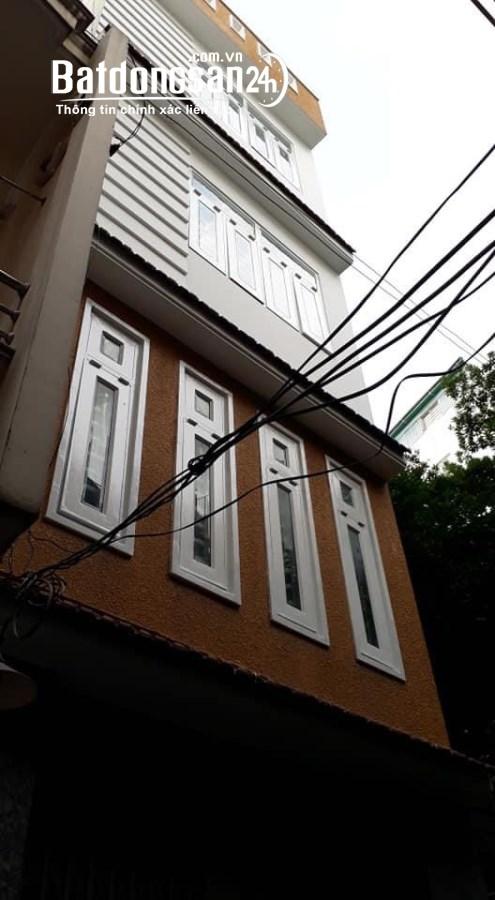 Bán gấp nhà mới 40M2 4 tầng hẻm cực đẹp giá 5.9 tỷ Hoàng Văn Thụ