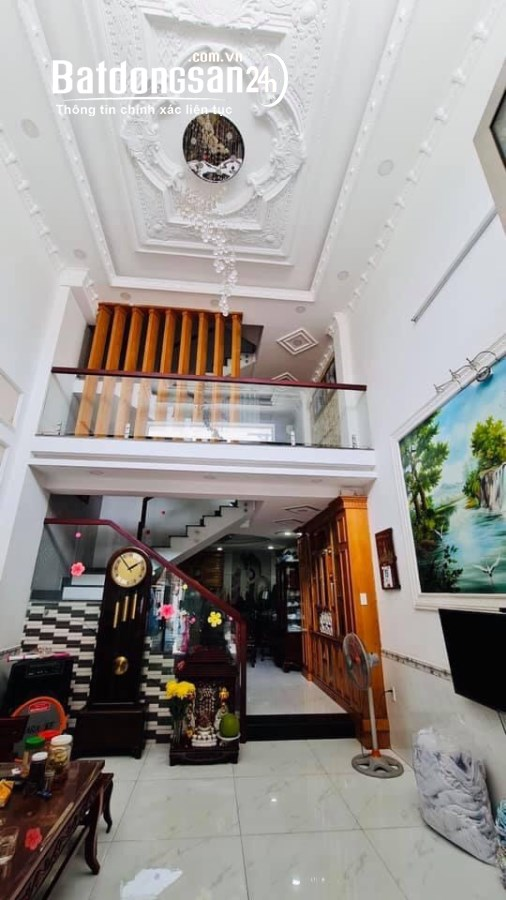Nhà HXH Bùi Quang Là 72m2 5Tầng 4.5x16 Giá 8.5 tỷ P12 Gò Vấp.