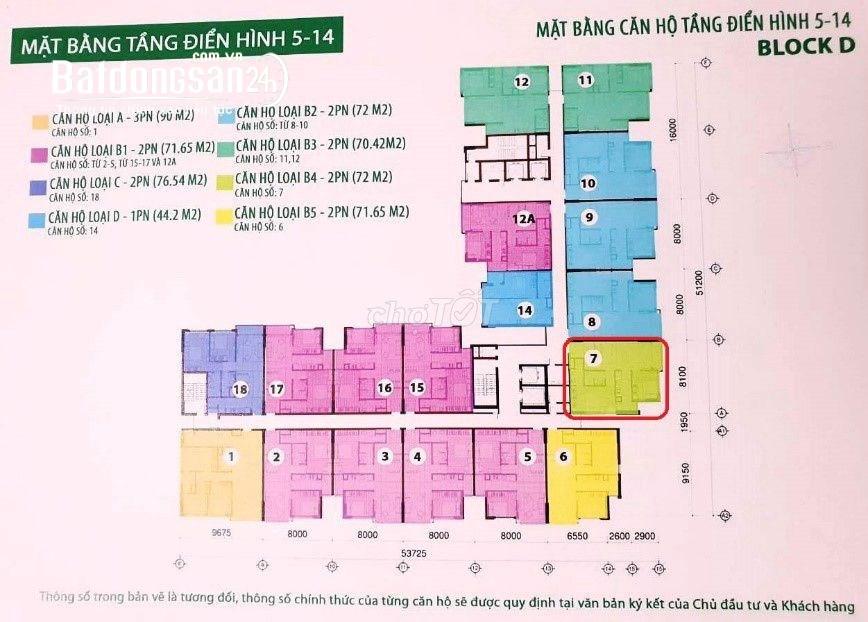 CHÍNH CHỦ CHO THUÊ CHUNG CƯ CỘNG HÒA GARDEN 72M² - TÂN BÌNH