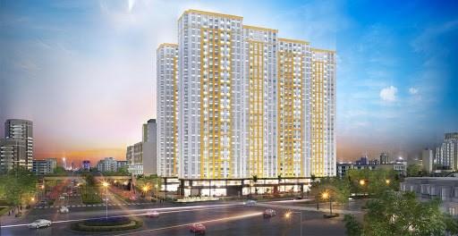 Cần cho thuê căn hộ City Gate, Quận 8, diện tích 72m2, 2PN, 2WC