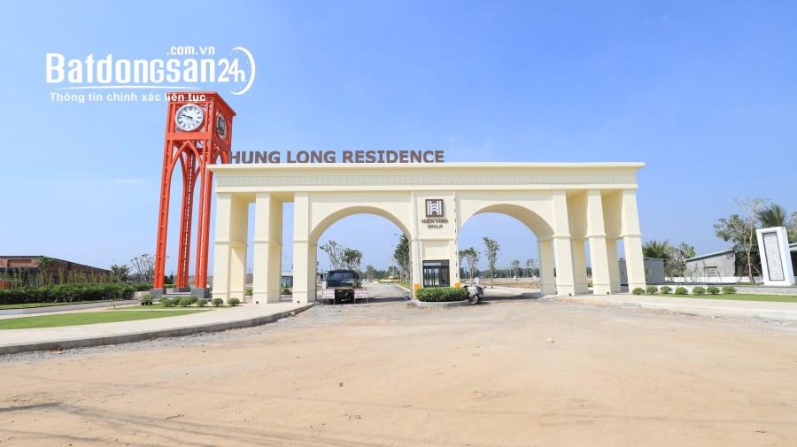 Bán đất nền phân lô Khu Đô Thị Hưng Long Residence