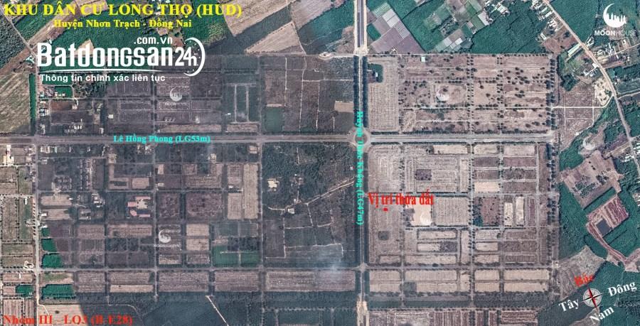 Bán đất Đường Lê Hồng Phong, Xã Long Thọ, Huyện Nhơn Trạch