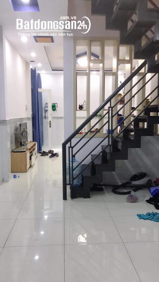 Nhà bán Đường Sơn Kỳ, quận Tân Phú,2 tầng, 41m2, nhà mới đẹp, giá chỉ 3.4 tỷ.