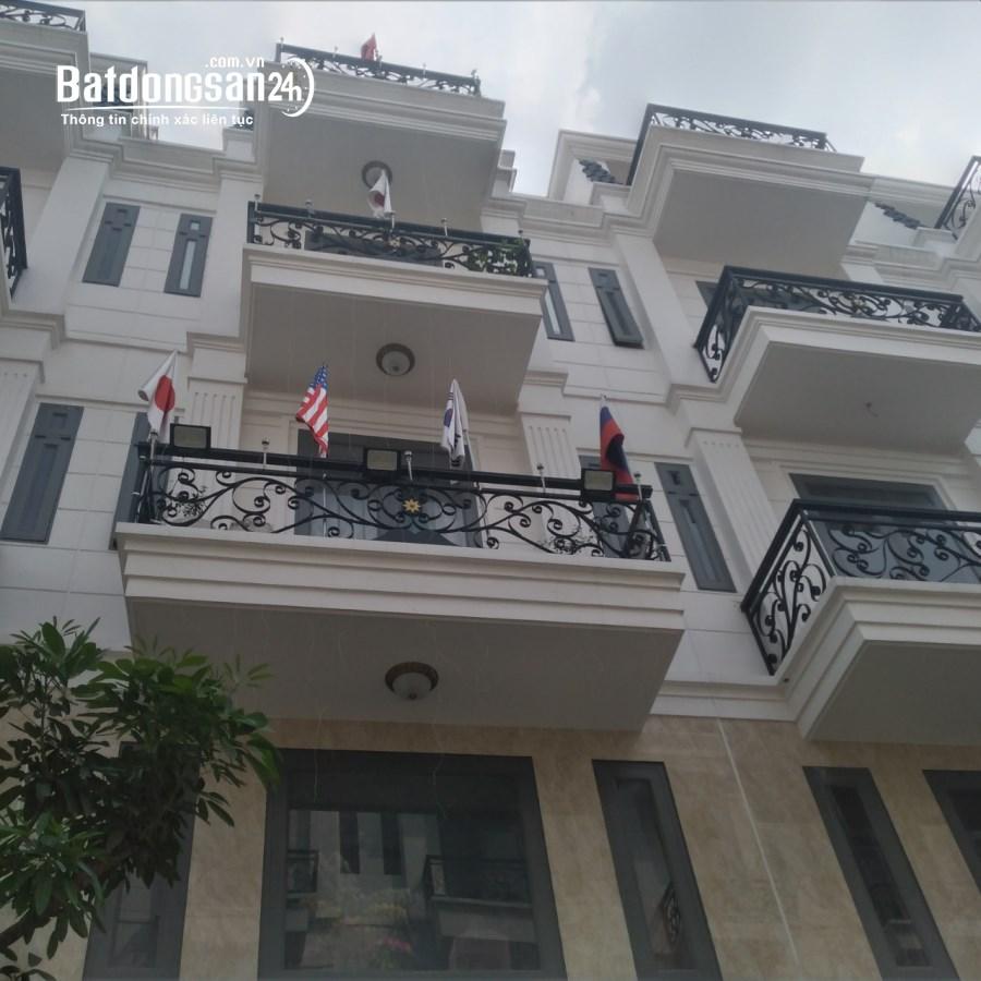 Bán nhà Tô Ngọc Vân LK Gò Vấp  2 lầu sân thượng, 4 phòng chỉ 4 tỷ 8