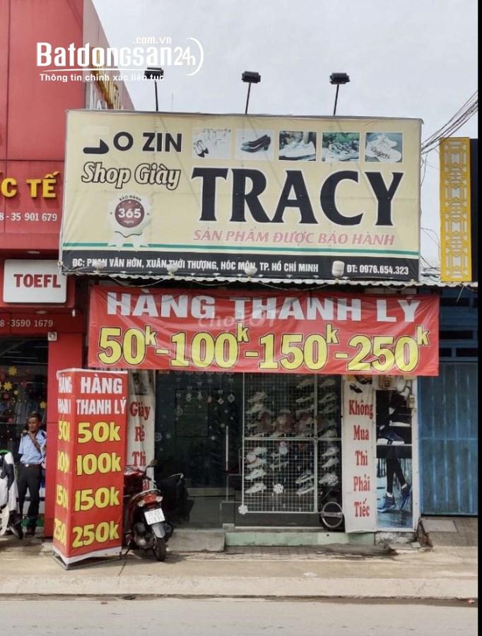 Chính chủ sang gấp Shop giày vị trí cực đẹp mặt tiền Phan Văn Hớn Hóc Môn