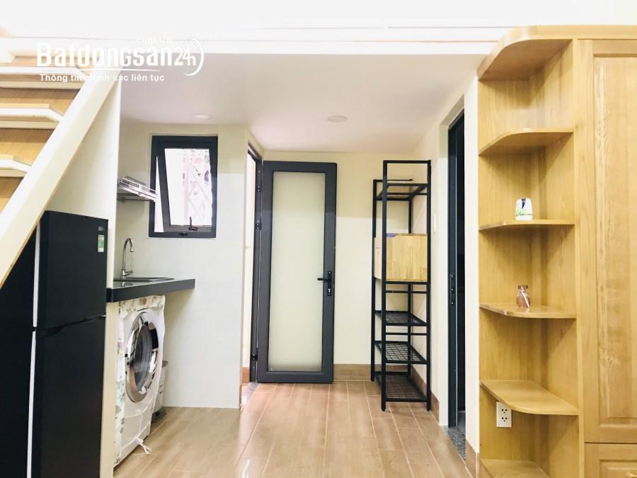 Cho thuê căn hộ dịch vụ full nội thất có gác quận 10