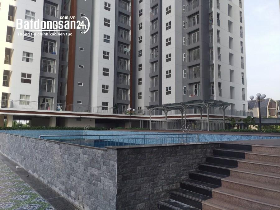 Cần cho thuê gấp căn hộ Conic riverside, Quận 8, Diện tích 65m2, 2PN, nhà mới