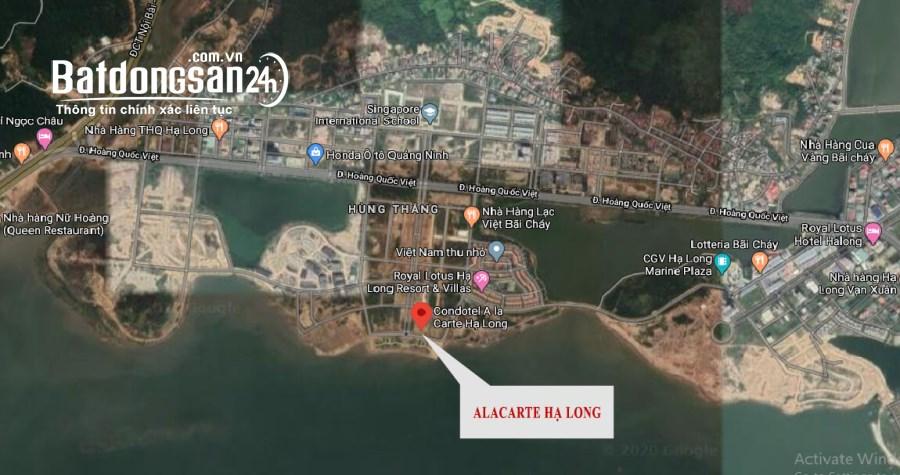 Bán căn hộ chung cư A La Carte Hạ Long Bay, Đường Hoàng Quốc Việt, TP - Hạ Long