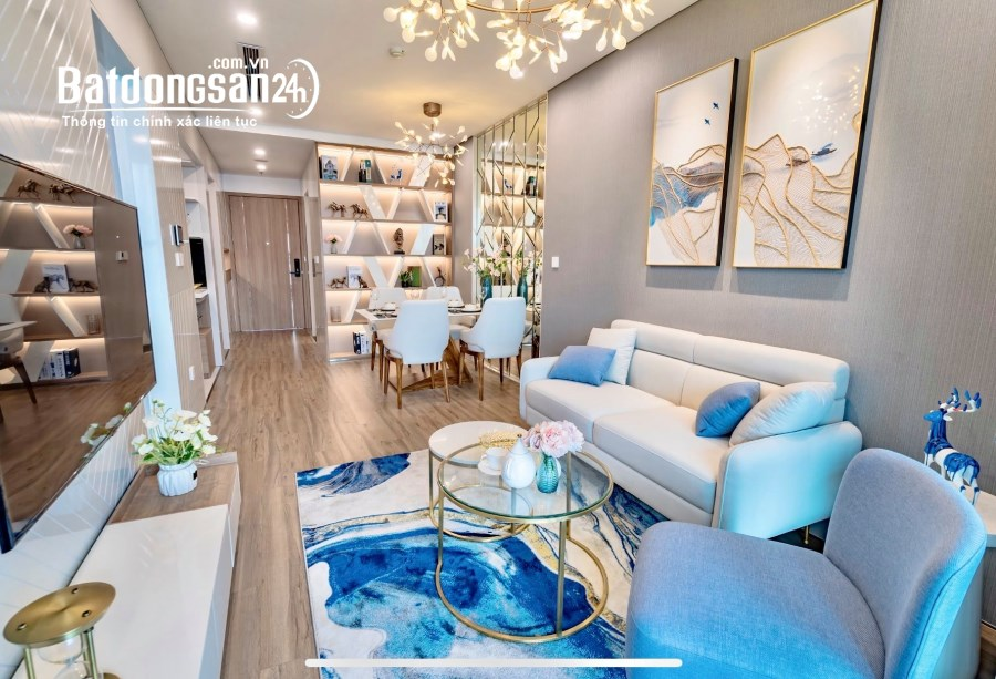 Căn studio 1PN, tầng đẹp bàn giao full nội thất liền tường cao cấp
