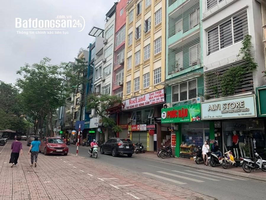 CỰC HIẾM-Mặt Phố Nguyễn Công Hoan 55m2 x5T-25 Tỷ,Vỉa hè Kinh doanh