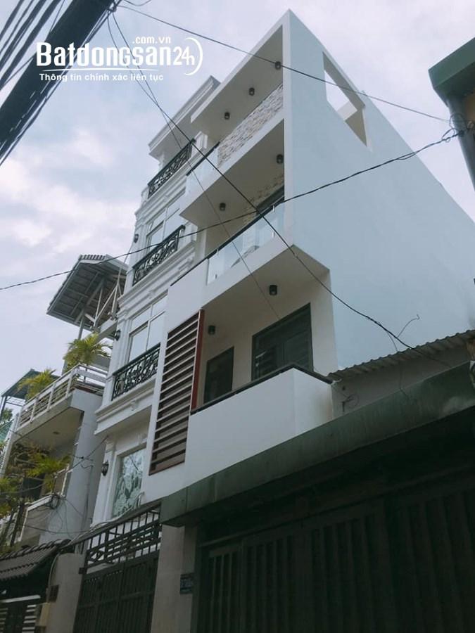 Bán nhà Nơ Trang Long, P7, Bình Thạnh, 70m2, 4 tầng, HXH, chỉ 6 tỷ 950.