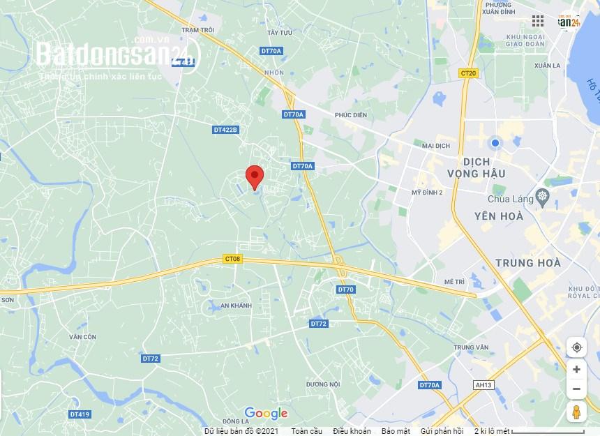 Đắc địa phân lô Khu 4.5ha Vân Canh, Đường Tỉnh Lộ 422, Huyện Hoài Đức