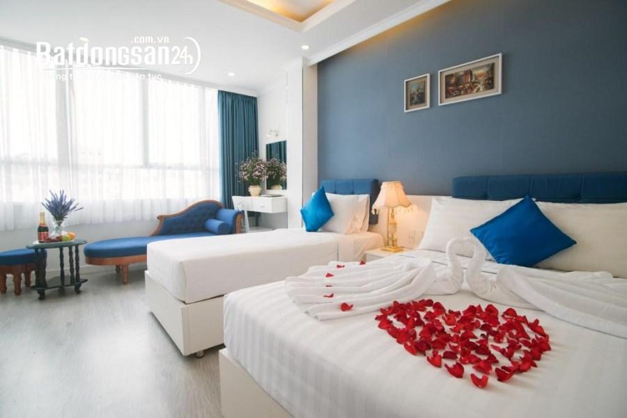 Bán khách sạn thiết kế 1 hầm 6 lầu có 24 phòng mặt tiền đường Phan Chu Trinh