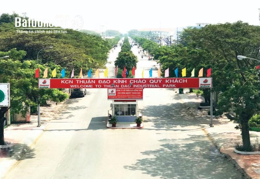 cho thuê kho xưởng  1600 m2 tại Khu Công nghiệp Thuận Đạo, H.Bến Lức, Long An.