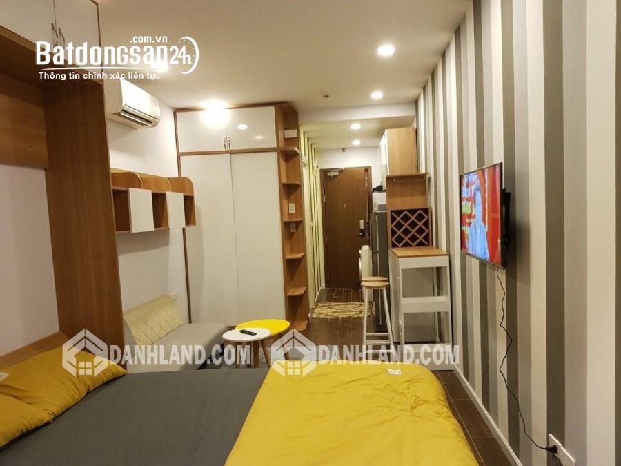 Cho thuê lại căn hộ Officetel Masteri Millennium Q4 40m² 1PN Full nội thất