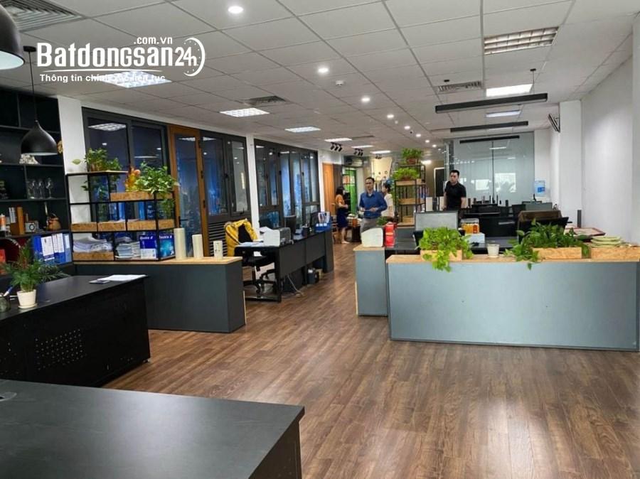 Cho thuê sàn văn phòng Hàm Nghi 225m2 giá rẻ thông sàn