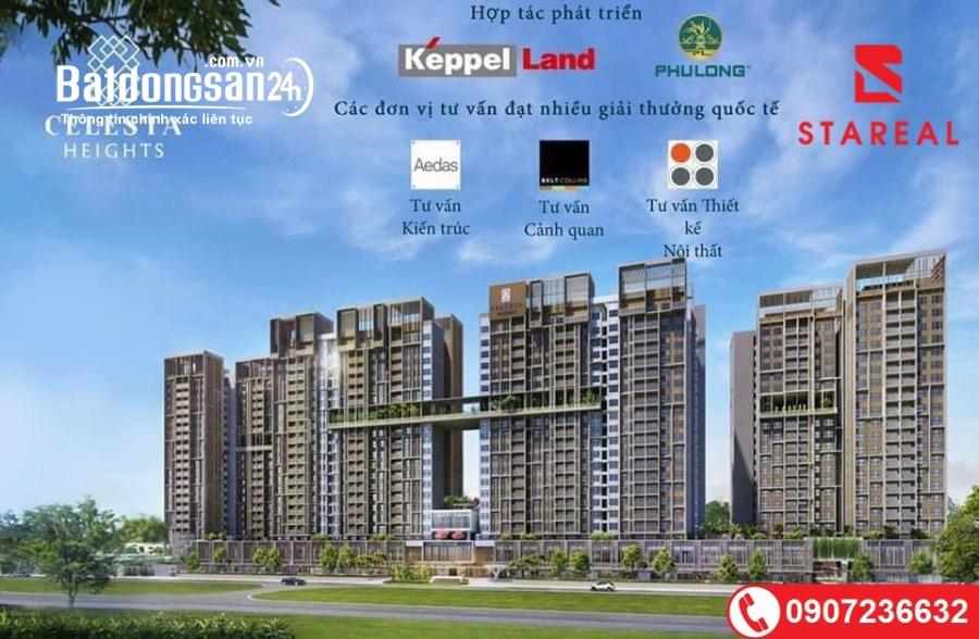 Mở bán giai đoạn 1 siêu phẩm Celesta Heights - Keppe Land đường Nguyễn Hữu Thọ