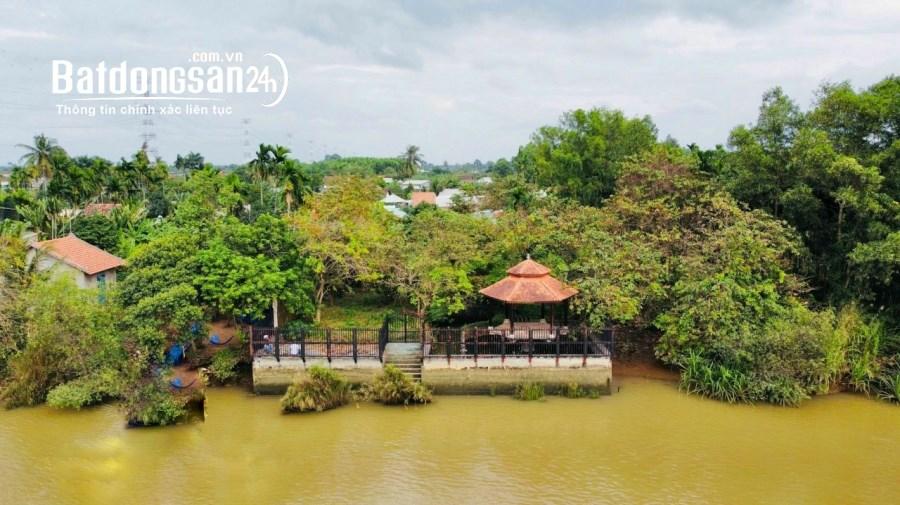 Bán gần 1000m2 đất nghĩ dưỡng ven sông, Bình Hòa, giá 4 tỷ 600.