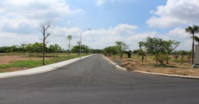 Bán đất mặt phố Đường Quốc Lộ 13, Xã Lai Hưng, Huyện Bàu Bàng