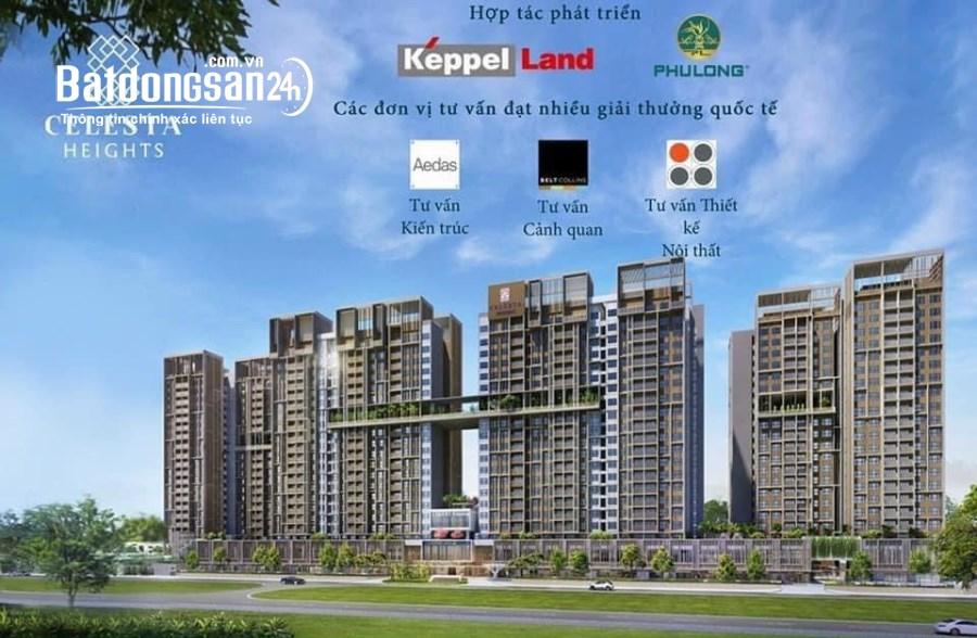Celesta Heights Kepple Land mở bán căn hộ cao 1PN ,mặt tiền đường Nguyễn Hữu Thọ