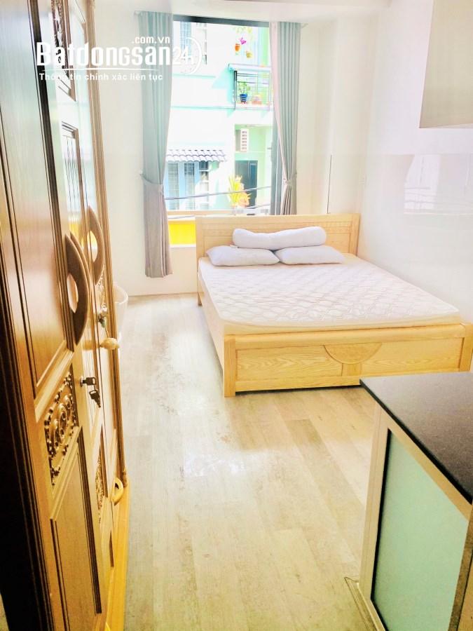 Cho thuê căn hộ 25m2 đường Tôn Thất Thuyết Quận 4 giá 4.6 triệu