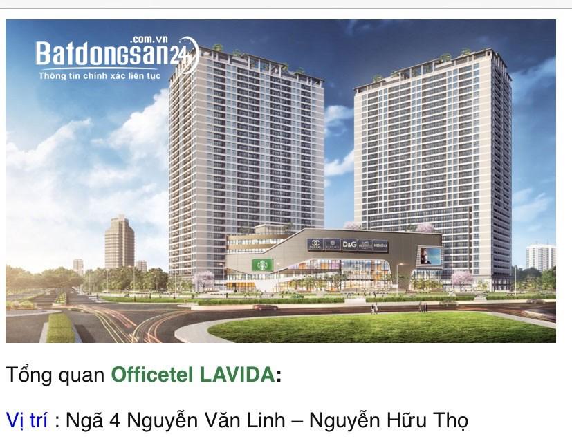 Cho thuê căn hộ chung cư Đường Nguyễn Hữu Thọ, Phường Tân Phong, Quận 7