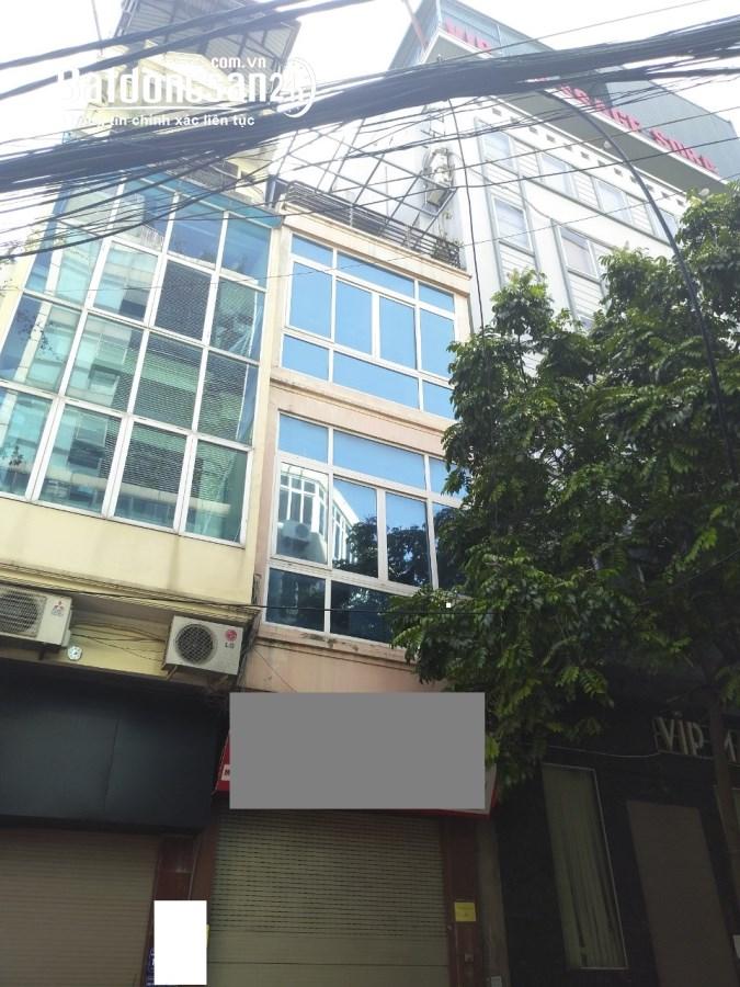 Nhà mặt ngõ Ngọc Khánh, mặt tiền giao ngã 3 vị trí đẹp. 52m2 x 4 tầng